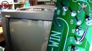 Банальный ремонт телевизора LG (то есть, то нет изображения)