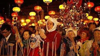 اتفرج..احتفالات الصينيين بعام الخروف