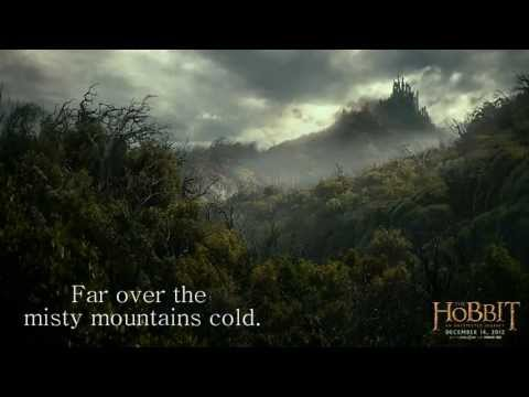Misty Mountains - The Hobbit cover.