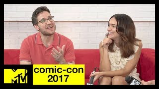 """Ready Player One"" Cast Reacts to the Trailer  