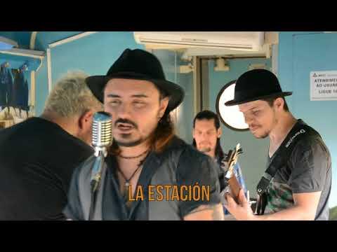 Banda grava clipe musical entre vagões da estação ferroviária de Aquidauana