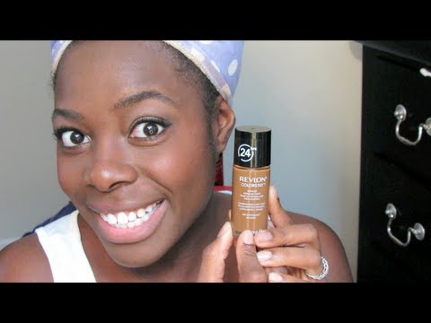 347| Revlon ColorStay Foundation 2nd Use & Impressions