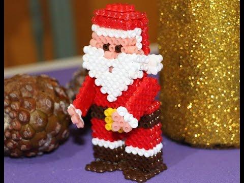 Papá Noel de Hama en 3D
