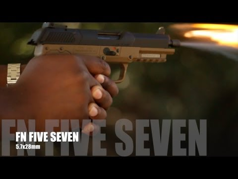 FN Five Seven Gun Review MRCOLIONNOIR's Initial Impressions