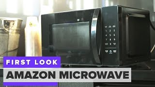 Amazon's Alexa-powered microwave first look - CNETTV