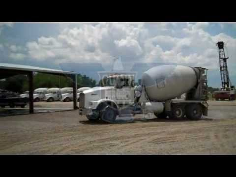 Kenworth T800 Concrete Mixer Truck For Sale at Unreserved Auction (Inv.3357)
