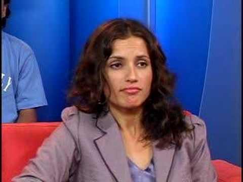 Univision Voces Inocentes Promotion Leonor Varela