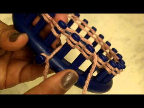 HOW TO LOOM KNIT - Basic Loom Knitting for Beginners 101