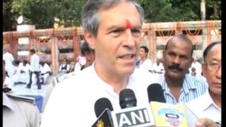 30,Oct 2014 - German envoy assures help for holy Buddhist shrine in eastern India - ANIINDIAFILE
