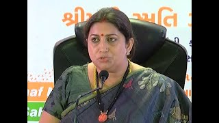 Will remember Manohar Parrikar for his thoughts and principles: Smriti Irani - ABPNEWSTV