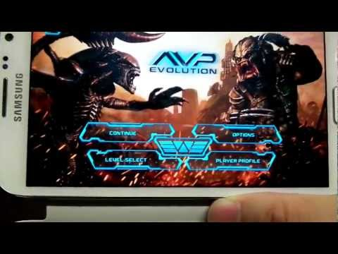 AVP: Evolution Android Gameplay