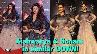 Fashion Police: Aishwarya & Sonam in similar GOWN! - IANSLIVE