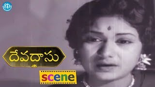#Mahanati Savitri Devadasu Movie Scene - Savitri Disappoints About Her Marriage || ANR, Savitri - IDREAMMOVIES