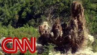 Images appear to show destruction of N. Korea nuke site - CNN