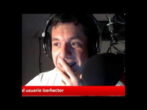 TWITCAM COMPLETA DE @hectorlocutor / HÉCTOR ROSSI. El locutor de Intrusos. TRASNOCHADOS. 21-9-2012
