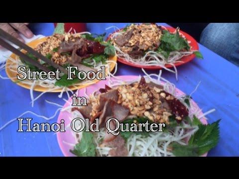March 2016 Travel Diary: A Tour of Street Food in Hanoi Old Quarter, Hanoi, Vietnam