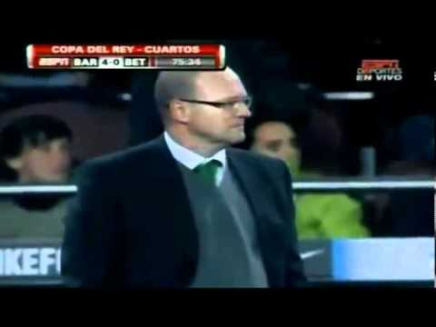 Barcelona Vs Real Betis 5 0 Goals & Full Highlights Copa Del Ray 2010 2011 12 01 2011