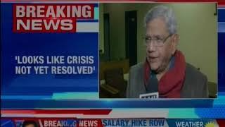 CPM's Sitaram Yechury expresses need to resolve the Supreme Court judges rift - NEWSXLIVE
