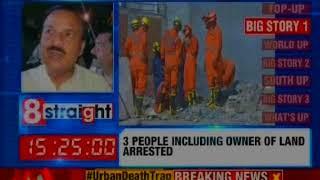Noida building collapse: One builder and property dealer arrested; police to quiz all 3 arrested - NEWSXLIVE