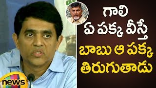 MLA Buggana Controversial Comments Over Chandrababu Naidu Politics | Buggana Press Meet| Mango News - MANGONEWS