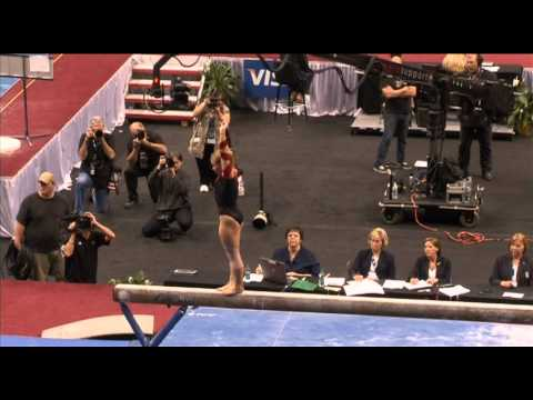 Shawn Johnson (Chow's) - 2011 US Nationals - Beam (Day 2)