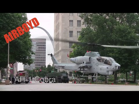 The Marines Have Landed - 2011 St. Louis Marine Week