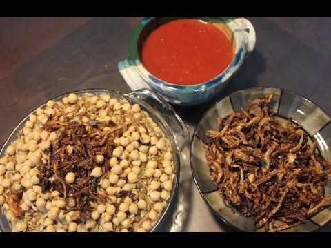 الكشري المصري | المطبخ العربيHow to make Koshary