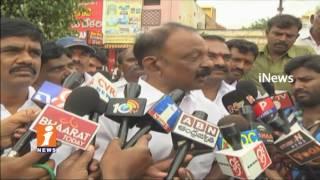 AP PCC Chief Raghuveera Reddy Speaks About nandyal by Election In Kurnool | iNews - INEWS