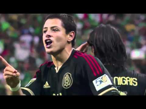 !! Miedo No !! Gol de Chicharito Hernandez en HD Mexico vs Honduras 2-0