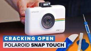 Polaroid Snap Touch camera printer combo teardown (Cracking Open) - CNETTV