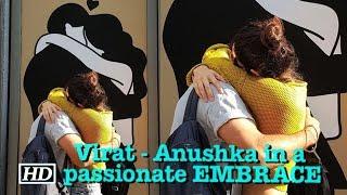 Virat - Anushka in a passionate EMBRACE - IANSLIVE