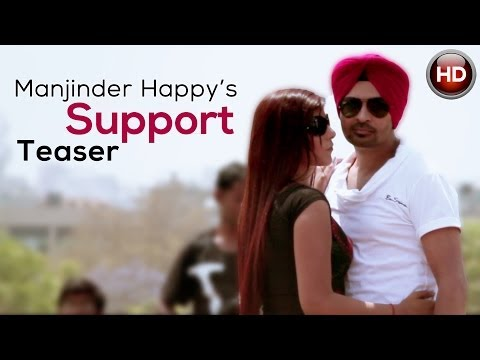 Support by Manjinder Happy - Teaser of New Punjabi Rockstar Song 2013 | Full HD