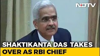 Will Uphold Autonomy, Values: New RBI Chief Shaktikanta Das - NDTV