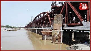 Water Level In Yamuna River Nears Danger Mark; Current Water Level At 204.83 Metres - AAJTAKTV