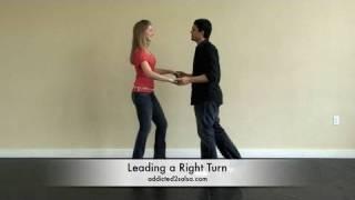 Learn Salsa Dancing Right Turn