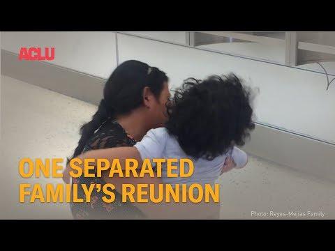 Niño separado de su madre en EU no la reconoce