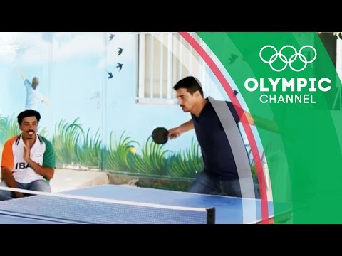 Syrian Refugees Relish the Taste of Home with Table Tennis   Camps to Champs