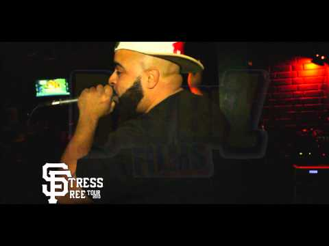 Equipto, First Light, Mike Marshall & more on the Stress Free Tour (Video)