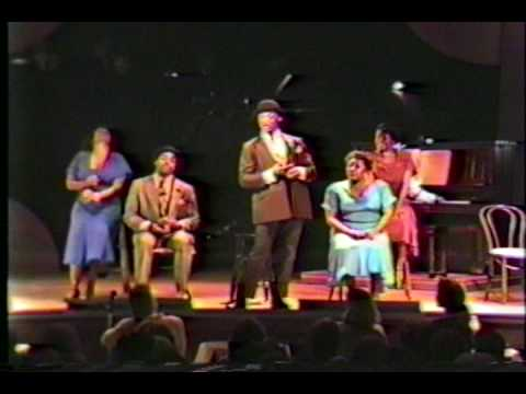 Blowing Rock NC Theater Misbehavin'  Summer 1988 - 1st African-American Show in Town History (S3P1)