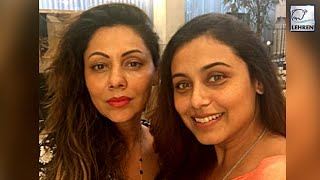 Rani Mukherjee's Surprise Visit To Gauri Khan | LehrenTV