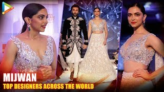 """They Can Provide For Top Designers Across The World..."": Deepika Padukone