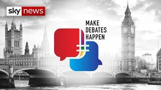 Sky News launches leaders' debates petition - SKYNEWS