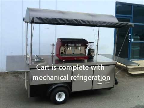 Mobile Propane Powered Espresso Cart Made by Apollo Carts