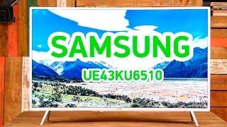 Samsung UE43KU6510 - плоскопанельный изогнутый 4К телевизор - Видео демонстрация