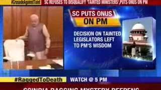 Congress seizes upon ruling, dares Modi to axe tainted Ministers - NEWSXLIVE