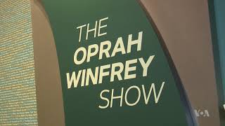 Smithsonian Opens Exhibit Dedicated to Oprah Winfrey's Legacy - VOAVIDEO