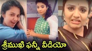 Sreemukhi Funny Dubsmash Video With Jabardast Avinash | Sarileru Neekevvaru | Tollywood Updates - RAJSHRITELUGU