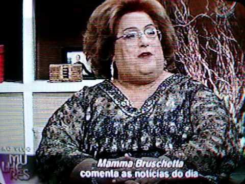 Cátia Fonseca falando de Regina Volpato..mov