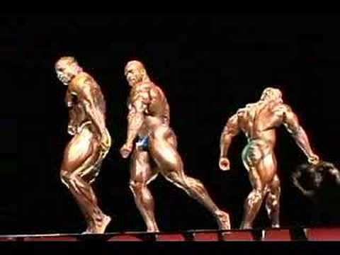 Ironman Pro Posedown Chris Cormier vs Flex Wheeler vs Dexter Jackson