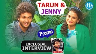 Meeku Meere Maaku Meme || Tarun And Jenny Exclusive Interview - Promo || Talking Movies With iDream - IDREAMMOVIES